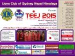 The Lions club of Sydney Nepal Himalaya presents TEEJ 2015