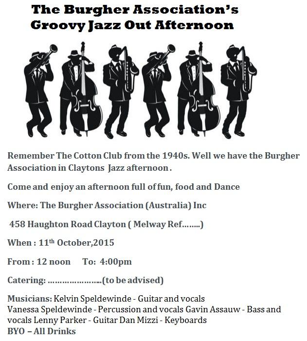 Burgher Jazz