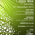 christmas carols walk