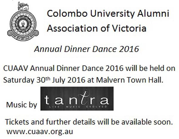 CUAAV Annual Dinner Dance 2016