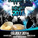 Hoppers and Kottu Night 2016