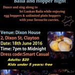 RUHUNU PULSE Baila and Hopper night