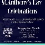 St.Anthony's Day Celebrations