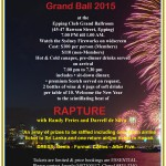 New Year's Eve Grand Ball 2015