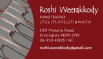 Roshi Weerakkody
