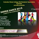 Colombo Hindu College Old Students' Association Australia proudly presents - Dinner Dance 2018 (Sydney Event)