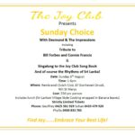 The Joy Club Presents - Sunday Choice with Desmond & The Impressions - (Sunday 5th August 2018) - Sydney event