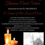 The 10thThomian Carol Service