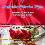 SHEPHERDIAN VALENTINE NIGHT