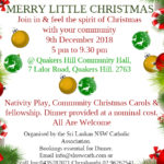 Sri Lankan NSW Catholic Association presents - Merry Little Christmas (9th Dec 2018)