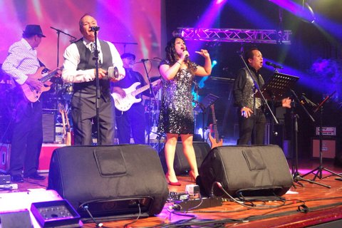 New Year's Eve dinner dance at Springvale Town Hall With Replay 6, Midnight Mist, Corrine and Kevin Almeida