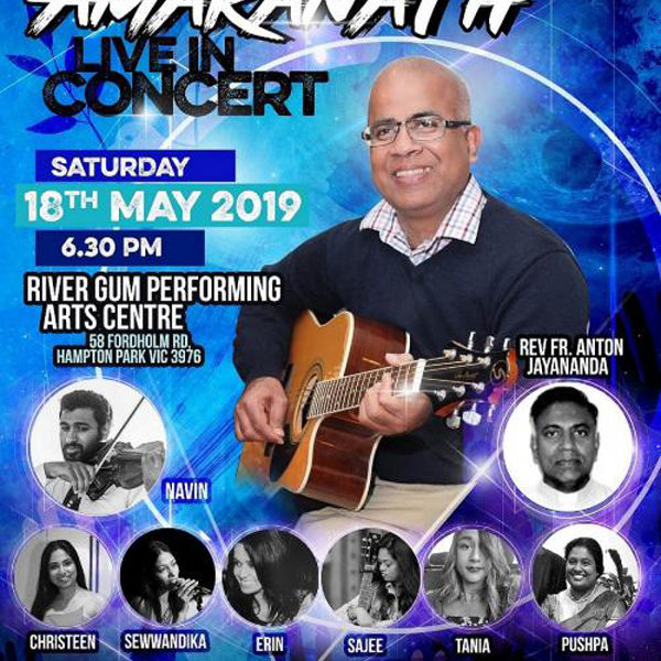 Christy Amaranath Live in Concert