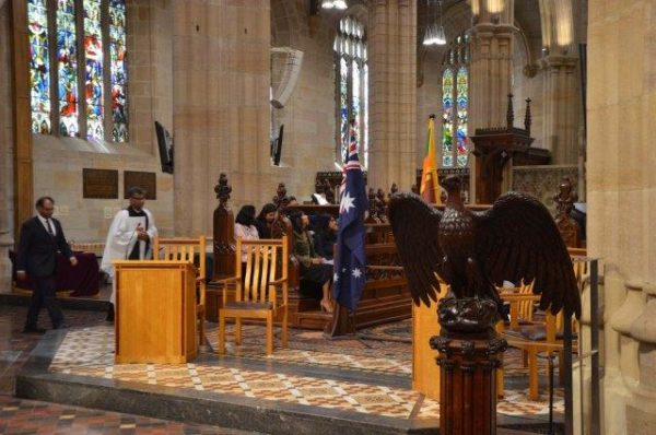 Photos from the Service of Commemoration for Sri Lanka at St Andrews Cathedral Saturday 27 April