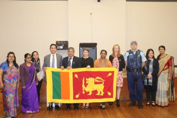 NSW Police Briefing for the Sri Lankan Community in Sydney