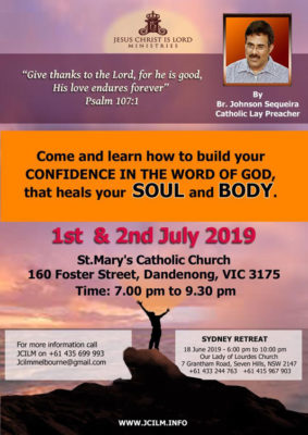 CONFIDENCE IN THE WORD