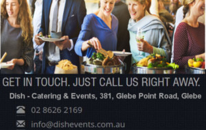 DISH CATERING & EVENTS – Sydney