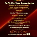 Felicitation Luncheon