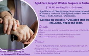 Aged Care Support Worker Program in Australia