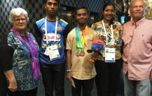 INAS Global Games – Sri Lankan Athletes in Queensland Australia with Anton Swan – Hon. Consul for Sri Lanka in Queensland Australia