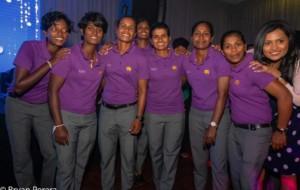 Cricket: Sri Lanka's women's squad in Melbourne