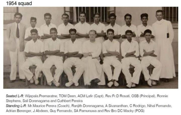 THE GLORY DAYS OF ANTHONIAN CRICKET