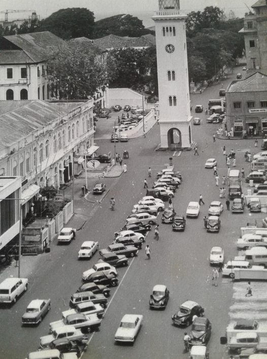 QUEEN STREET, FORT, COLOMBO 1 IN THE 1960s – By Upali Obeyesekere