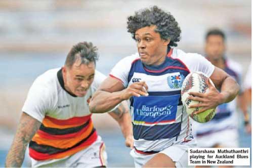 Rugby star Muthuthanthri has mesmerized many opponents by Indika Welagedara