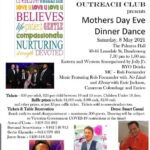 Voluntary Outreach Club – Mothers Day Eve - Dinner Dance – 8 May 2021 (Melbourne event)