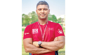 Bilal Hassan – Triple International in rugby, swimming and water polo-by Althaf Nawaz