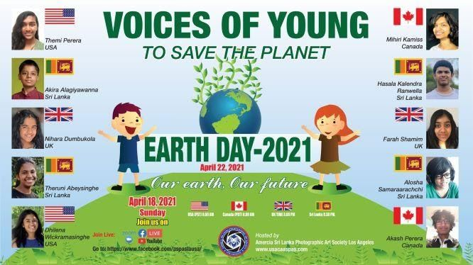 CELEBRATING THE EARTH DAY: THE VOICE OF THE NEXT GENERATION