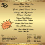 Silver Fawn Club - Golden Jubilee Dinner Dance