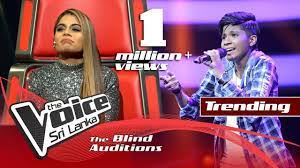 Harshi Hewawitharana – Ipadi Lowe (ඉපදී ලොවේ)  | Blind Auditions | The Voice Sri Lanka