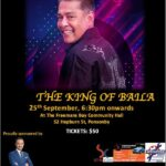 Dance with the King of Baila ( Auckland, New Zealand event) - 25th September 2021