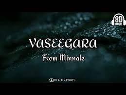 Vaseegara from Minalle song lyrics🎵(8D audio quality) #REALITY_LYRICS 