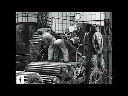 Charlie Chaplin – The Mechanic's Assistant – Scene from Modern Times