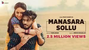 Manasara Sollu Official Video Song – Teejay   Priyanka   Nandita   Jenson   Tamilarasan