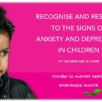 PINK SARI - Recognise and respond to signs of anxiety and depression in children